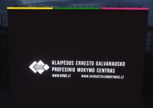 KEGPMC reklaminiai įrenginiai