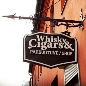 Whisky & Cigars parduotuvė