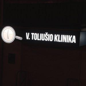 V. Toliušio klinikos reklama