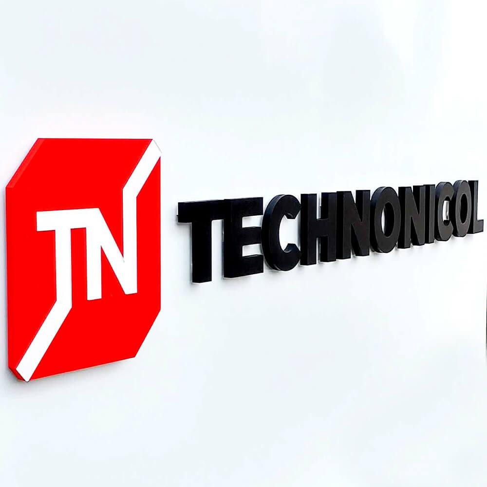 Technonicol reklaminiai įrenginiai