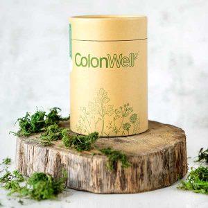 ColonWell pakuotės dizainas